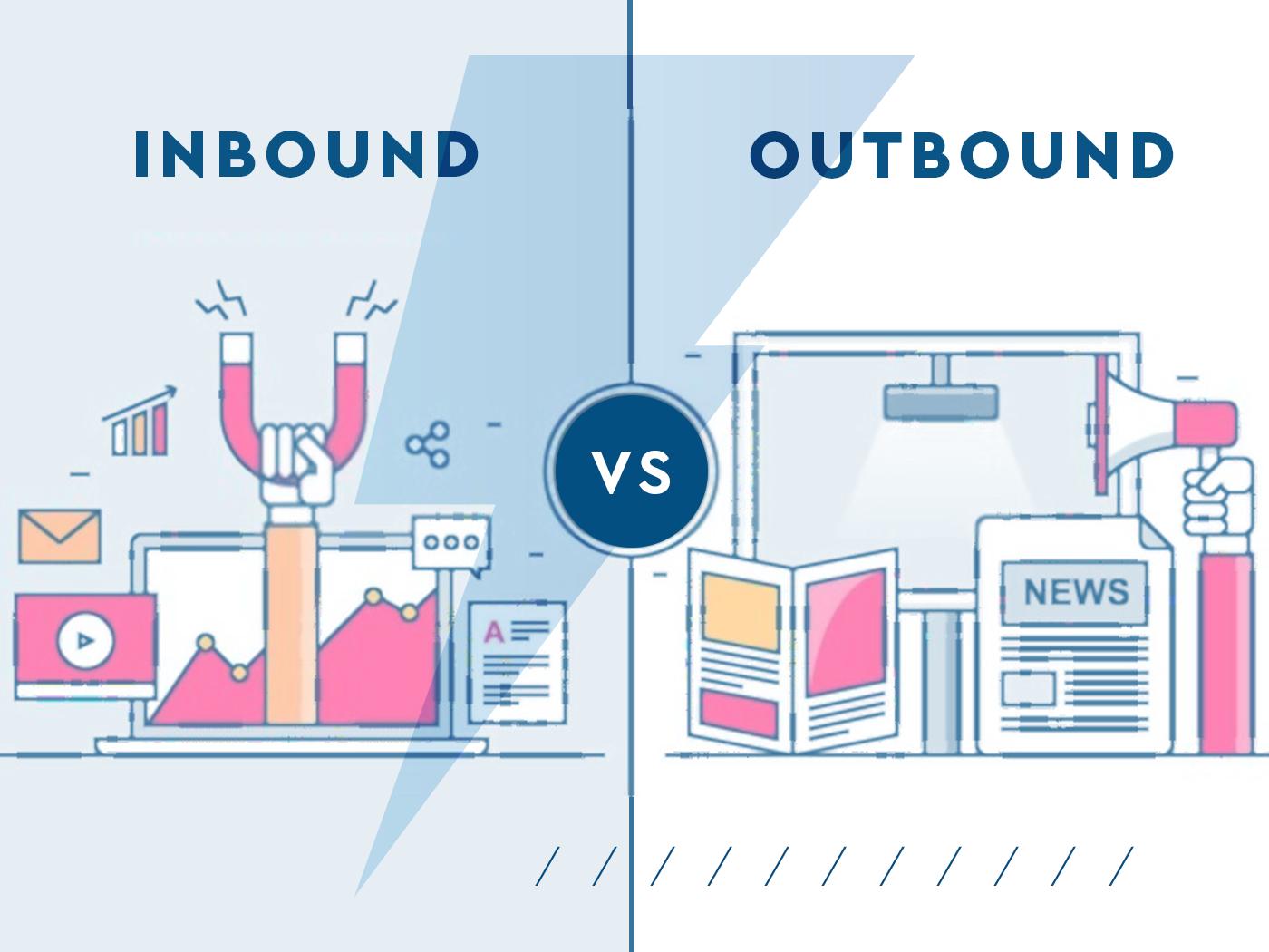 Conheça agora as diferenças entre o inbound marketing e outbound marketing, para aplicar as suas estratégias de marketing corretamente.