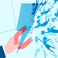 Utilizar um lead magnet é uma maneira fácil de atrair mais clientes e aumentar as conversões para a sua empresa.