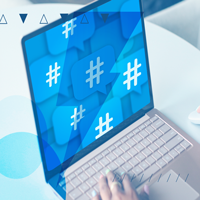 De que forma as hashtags aumentam o alcance de uma marca